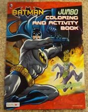Batman Jumbo Coloring and Activity Book #2 New