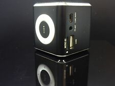new ANGEL ALU Sound Mini Lautsprecher NEU OVP Musik Speaker Box LED