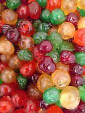 Mixed 4 different Coloured Glace Cherries 100g