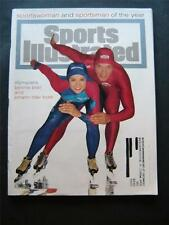 Sports Illustrated Dec 19 1994 Sports Man Woman of Year Olympic Speed Skaters