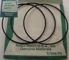 Rolex Watch part 29-317-8 3 black gaskets