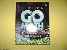 Go Math! Florida Advanced Mathematics 2 @2015