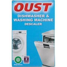 OUST DISHWASHER WASHING MACHINE LIMESCALE DESCALER CLEANER SACHETS 3000610102
