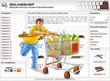 PROFI ONLINESHOP SYSTEM - in DEUTSCH, für alle Branchen bestens geeignet