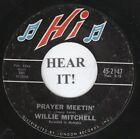 Willie Mitchell MOD 45 (Hi 2147) Prayer Meetin'/Bum Daddy VG+