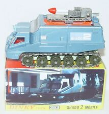 CTS Code-3 Dinky Toys UFO SHADO 2 MOBILE ROCKET TRUCK Blue Gerry Anderson TV MIB