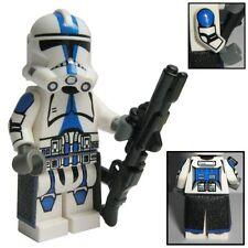 501st legión Clone Trooper figura maciza de Lego Star Wars & partes Custom