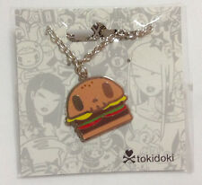 Tokidoki Hamburger Pendant Charm Chain Necklace kawaii