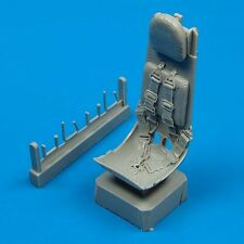 Quickboost-Heinkel he-162 ejection seat with Safety Belts asiento eyectable 1:48