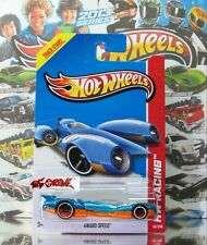 Hot Wheels 2013 #118 4Ward Speed™ BLUE,NEW CASTING,WHITE RIM,BLACK OH5SP,NEW