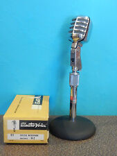 Vintage 1950S Era Electro Voice 911 Microphone With Atlas Stand Deco Old