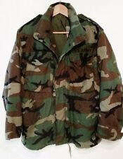 US Army Military mens size S Issued field jacket coat