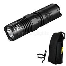 Nitecore P05 460 Lumen Strobe Ready Tactical Self-Defense LED Flashlight - Black