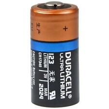 1x cr123 pile lithium photo cr123a en vrac Bulk 3v Duracell ultra
