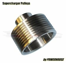 Jaguar XJR 4.2 X358 Supercharger 6% Upper Pulley Upgrade stainless steel 2008