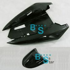 Black Tail Rear Fairing + Seat Cowling for Kawasaki Ninja ZX-10R ZX10R 2004-2005