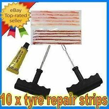 OZ SELLER-13 pcs Tyre repair kit puncture 4WD trailor car quad motorbike 4X4