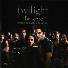 Twilight (2008) Original Motion Picture Score Soundtrack CD by Carter Burwell