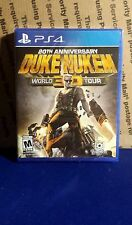 Duke Nukem 3D: 20th Anniversary World Tour (Sony PlayStation 4, 2016) SEALED OOP