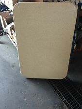 "1 NEW 39"" X 26"" TAN RV CAMPER TRAILER MOTORHOME TABLE TOP COUNTER LX120T"