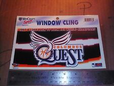 ABL Columbus Quest 1998-99 Champions women Basketball Ohio Car Window Decal