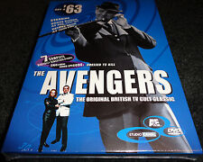 THE AVENGERS '63 Set 2 NEW DVD 2 Discs HONOR BLACKMAN Brand New Factory Sealed