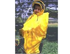 Hock Regenschutz Hock Rain-Bow für Kindersitz gelb Fahrrad Kinder Poncho