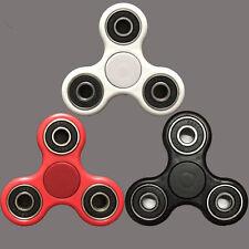 3D EDC Hand Spinner Tri Fidget Tri-Spinner Ceramic Ball Focus Toy