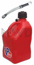 VP Racing Red 5 Gallon Square Fuel Jug/Deluxe Fill Hose/Water/Jerry Gas Can