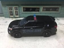 GREEN LIGHT POLICE FORD EXPLORER INTERCEPTOR FISHERS POLICE UTILITY UNIT