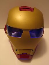Disney Marvel IRON MAN Electronic Talking Light Up Mask Helmet Toy Costume