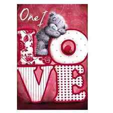 ME TO YOU ONE I LOVE VALENTINE'S DAY CARD TATTY TEDDY BEAR NEW GIFT