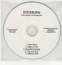 (ET775) Rockburn, Red Dress - DJ CD