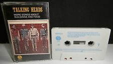 TALKING HEADS - 'MORE SONGS ABOUT BUILDINGS & FOOD' - CASSETTE - SIRE