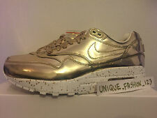 NIKE AIR MAX 1 SP LIQUID GOLD US 8 UK 7 41 SPECKLE SILVER YEEZY ATMOS PATTA 3/26