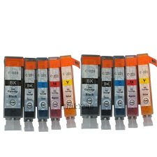 10 pack PGI-220 CLI-221 ink cartridge for CANON Pixma MP620 MP640 MP980 MP990