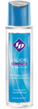 I.D. Glide Personal Lubricant 4.4oz. Bottle New Packaging