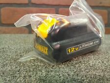 Dewalt DCB120 12V MAX Lithium Ion Genuine Battery Pack-***NEW***