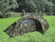 One Person Army RECON US Military Outdoor Zelt Einmannzelt Zelt woodland camo