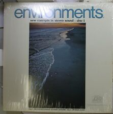 Jazz Sealed! Lp Environments New Concept In Stereo Sound On Atlantic