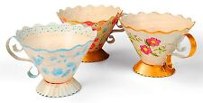 Sizzix Bigz L 3D Tea Cup die #658351 Retail $29.99 Cuts fabric, SO PRETTY!!