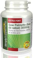 Saw Palmetto 3000mg - 180 Comprimés - Simply Supplements