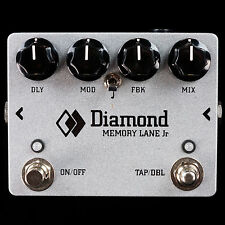 NEW DIAMOND MEMORY LANE JR DELAY ECHO - BOUTIQUE ANALOG PEDAL - TRANSPARENT TONE