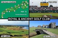 SOUVENIR FRIDGE MAGNET of THE R&A GOLF CLUB ST. ANDREWS SCOTLAND