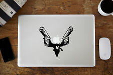 "Traje Con Armas De Fuego Vinilo Decal Sticker Para Apple Macbook air/pro laptop de 11 ""de 13"" 15 """