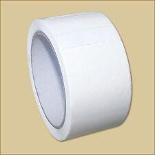 2 Klebeband Rollen 50 mm x 66 m WEISS PP Leise abrollbar weiß