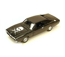 ERTL Tomy 1969 Dodge Charger R/T 1:24 model Death Proof Movie car skull E20
