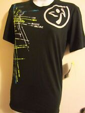 Zumba Wear Crew Neck Graphic Tee XS