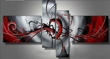 Modern Painting On Canvas Abstract Art Contemporary Framed Wall Decor Bedroom
