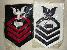 Original WW2 US NAVY PHOTOGRAPHERS MATE Chiefs Sleeve Rate-Two Different